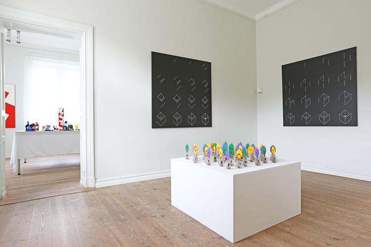 Rum 4 med Cajsa Holmstrands konstverk
