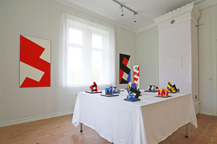 Cajsa Holmstrands konstverk i rum 5.